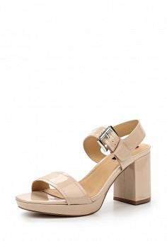 Босоножки, MTNG, цвет: бежевый. Артикул: MT001AWSBB29. Женская обувь / Босоножки
