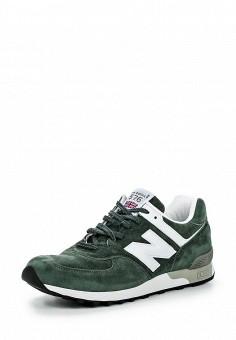 Кроссовки, New Balance, цвет: зеленый. Артикул: NE007AMNEX29. Мужская обувь