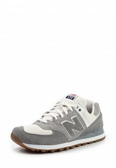 Кроссовки, New Balance, цвет: серый. Артикул: NE007AMPDJ26. Мужская обувь