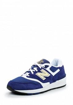 Кроссовки, New Balance, цвет: синий. Артикул: NE007AMPDJ74. Мужская обувь