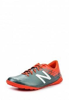 Бутсы зальные, New Balance, цвет: серый. Артикул: NE007AMPEC77. Мужская обувь