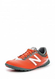 Бутсы зальные, New Balance, цвет: красный. Артикул: NE007AMPEC78. Мужская обувь