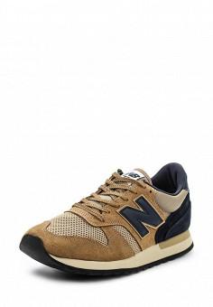 Кроссовки, New Balance, цвет: коричневый. Артикул: NE007AMPED05. Мужская обувь