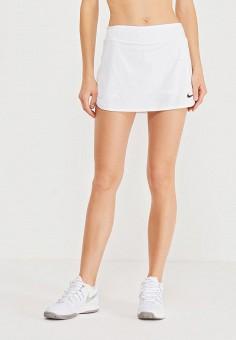 Юбка, Nike, цвет: белый. Артикул: NI464EWHBM26.
