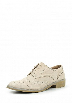 Ботинки, Obsel, цвет: бежевый. Артикул: OB005AWQEJ93. Женская обувь / Ботинки