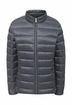 Куртка утепленная, Olsen, цвет: синий. Артикул: OL312EWPVS60. Женская одежда / Верхняя одежда / Пуховики и зимние куртки