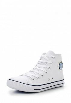 Кеды, oodji, цвет: белый. Артикул: OO001AWKJE26. Женская обувь / Кроссовки и кеды / Кроссовки