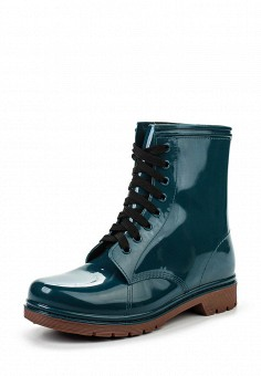 Ботинки, oodji, цвет: зеленый. Артикул: OO001AWLOJ42. Женская обувь / Ботинки