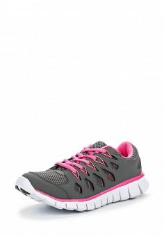 Кроссовки, oodji, цвет: серый. Артикул: OO001AWOCU32. Женская обувь / Кроссовки и кеды / Кроссовки