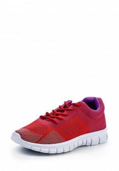 Кроссовки, oodji, цвет: красный. Артикул: OO001AWPPA33. Женская обувь / Кроссовки и кеды / Кроссовки