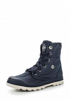 Ботинки, Palladium, цвет: синий. Артикул: PA307AWRWN49. Женская обувь / Ботинки