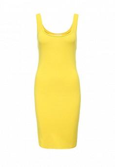 Платье, Patrizia Pepe, цвет: желтый. Артикул: PA748EWOML54. Премиум / Одежда / Платья и сарафаны