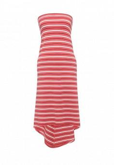 Платье, Patrizia Pepe, цвет: оранжевый, розовый. Артикул: PA748EWPTN00. Премиум / Одежда / Платья и сарафаны