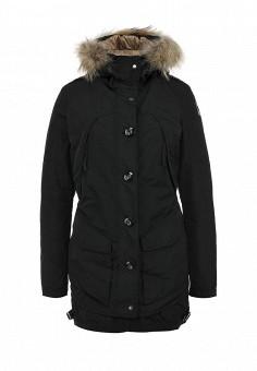Пуховик, Parajumpers, цвет: черный. Артикул: PA997EWFLM78. Женская одежда / Верхняя одежда