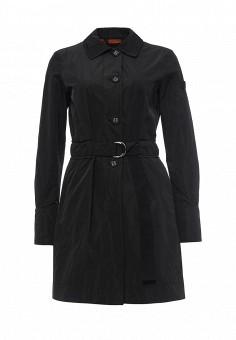 Плащ, Peuterey, цвет: черный. Артикул: PE024EWQFB32. Премиум / Одежда / Верхняя одежда / Плащи и тренчкоты