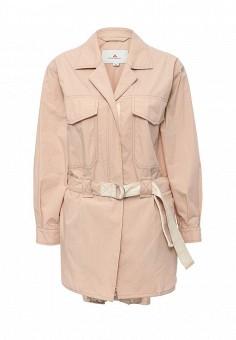 Плащ, Peuterey, цвет: розовый. Артикул: PE024EWQFB39. Премиум / Одежда / Верхняя одежда / Плащи и тренчкоты