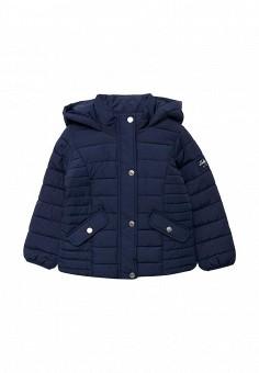 Куртка утепленная, Piazza Italia, цвет: синий. Артикул: PI022EGYDH49. Девочкам / Одежда для девочек