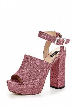 Босоножки, Pinko, цвет: розовый. Артикул: PI754AWOIF34. Премиум / Обувь / Босоножки