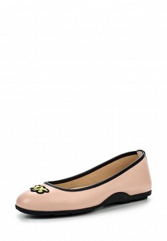 Балетки, Pinko, цвет: розовый. Артикул: PI754AWOIF63. Премиум / Обувь / Балетки