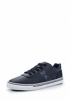 Кеды, Polo Ralph Lauren, цвет: синий. Артикул: PO006AMGDR91. Мужская обувь / Кроссовки и кеды