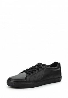 Кеды, Polo Ralph Lauren, цвет: черный. Артикул: PO006AMIPT80. Мужская обувь / Кроссовки и кеды