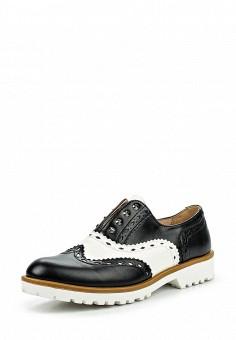 Ботинки, Prendimi, цвет: черно-белый. Артикул: PR028AWQEK27. Женская обувь / Ботинки