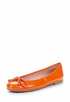 Балетки, Pretty Ballerinas, цвет: оранжевый. Артикул: PR758AWRHD43. Премиум / Обувь / Балетки