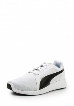 Кроссовки, Puma, цвет: белый. Артикул: PU053AUQOX84. Женская обувь / Кроссовки и кеды / Кроссовки