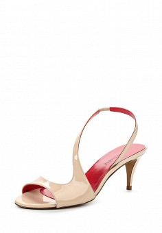 Босоножки, Pura Lopez, цвет: бежевый. Артикул: PU761AWQLR54. Премиум / Обувь / Босоножки
