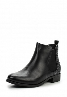 Ботинки, Queen Vivi, цвет: черный. Артикул: QU004AWLIK86. Женская обувь / Ботинки