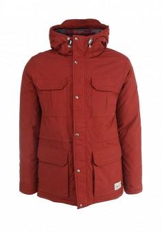 Парка, Quiksilver, цвет: красный. Артикул: QU192EMFVR86. Мужская одежда / Верхняя одежда / Парки
