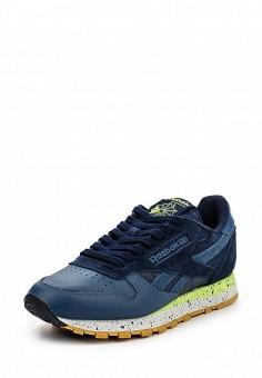 Кроссовки, Reebok Classics, цвет: синий. Артикул: RE005AUQJI41. Женская обувь / Кроссовки и кеды / Кроссовки