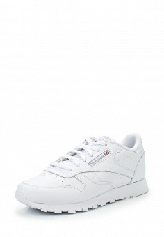 Кроссовки, Reebok Classics, цвет: белый. Артикул: RE005AWASQ92. Женская обувь / Кроссовки и кеды / Кроссовки