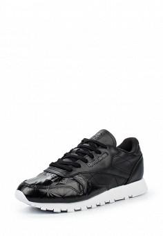 Кроссовки, Reebok Classics, цвет: черный. Артикул: RE005AWQJJ04. Женская обувь / Кроссовки и кеды / Кроссовки