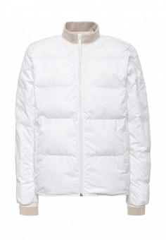 Куртка утепленная, Reebok Classics, цвет: белый. Артикул: RE005EWQJH93. Женская одежда / Верхняя одежда / Демисезонные куртки