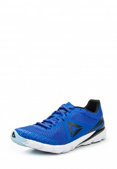 Кроссовки, Reebok, цвет: синий. Артикул: RE160AUUPP19. Женская обувь / Кроссовки и кеды