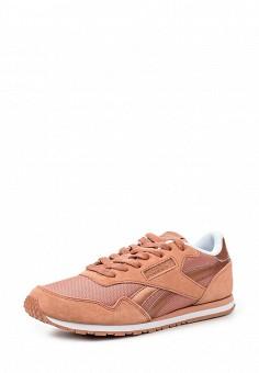 Кроссовки, Reebok, цвет: коралловый. Артикул: RE160AWRMV36. Женская обувь / Кроссовки и кеды