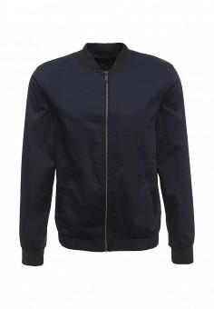 Куртка, River Island, цвет: синий. Артикул: RI004EMNJI40. Мужская одежда / Верхняя одежда