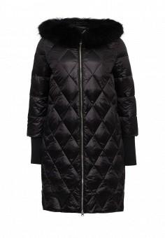 Пуховик, Savage, цвет: черный. Артикул: SA004EWLPC31. Женская одежда / Верхняя одежда / Пуховики и зимние куртки