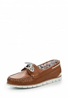 Мокасины, Salamander, цвет: коричневый. Артикул: SA815AWRVK41. Женская обувь / Мокасины и топсайдеры