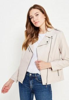 Куртка кожаная, Sela, цвет: . Артикул: SE001EWURP18. Женская одежда / Верхняя одежда / Косухи