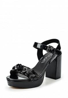 Босоножки, Sixtyseven, цвет: черный. Артикул: SI025AWSBB34. Женская обувь / Босоножки