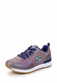 Кроссовки, Skechers, цвет: фиолетовый. Артикул: SK261AWQHH32. Женская обувь / Кроссовки и кеды / Кроссовки