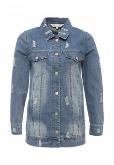 Куртка джинсовая, Softy, цвет: голубой. Артикул: SO017EWROZ26. Женская одежда / Тренды сезона / Летний деним / Джинсовые куртки