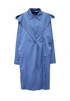 Плащ, Sportmax Code, цвет: голубой. Артикул: SP027EWORD05. Премиум / Одежда / Верхняя одежда / Плащи и тренчкоты