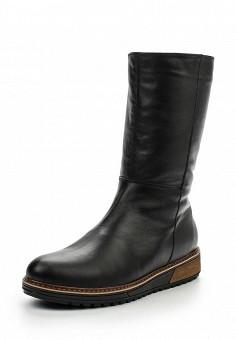 Полусапоги, Spur, цвет: черный. Артикул: SP169AWKZA74. Женская обувь / Сапоги