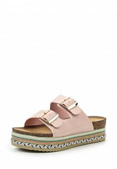 Шлепанцы, Stephan, цвет: розовый. Артикул: ST031AWSTN46. Женская обувь / Шлепанцы и акваобувь