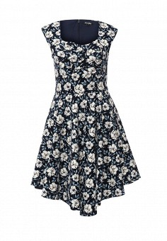 Платье, Stella Morgan, цвет: синий. Артикул: ST041EWIWT06. Женская одежда / Платья и сарафаны / Летние платья