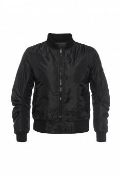 Куртка, Stella Morgan, цвет: черный, хаки. Артикул: ST045EWQXU00. Женская одежда / Верхняя одежда / Демисезонные куртки