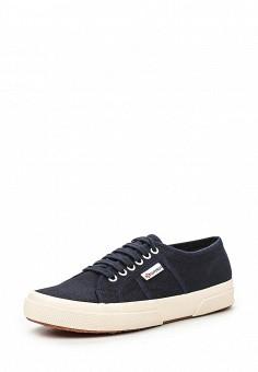 Кеды, Superga, цвет: синий. Артикул: SU014AUIHY60. Мужская обувь / Кроссовки и кеды